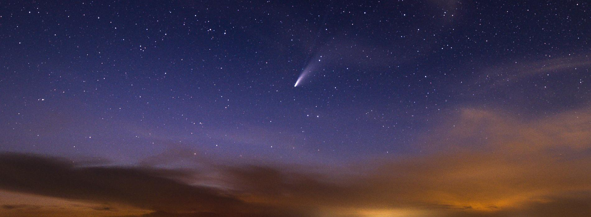 Neowise Comet from Edisto Beach