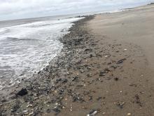 Post Storm Picture of Edisto Beach